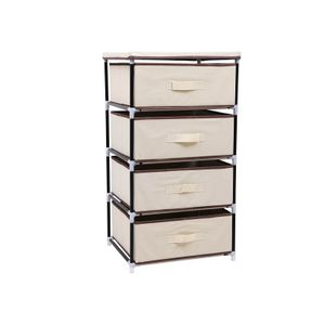 4 Drawers Storage Wardrobe