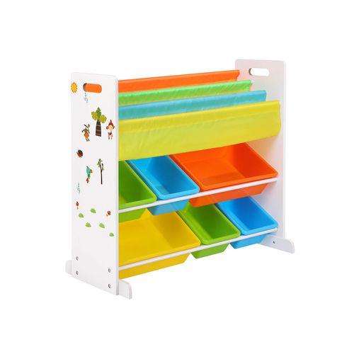 Book Toy Storage Rack