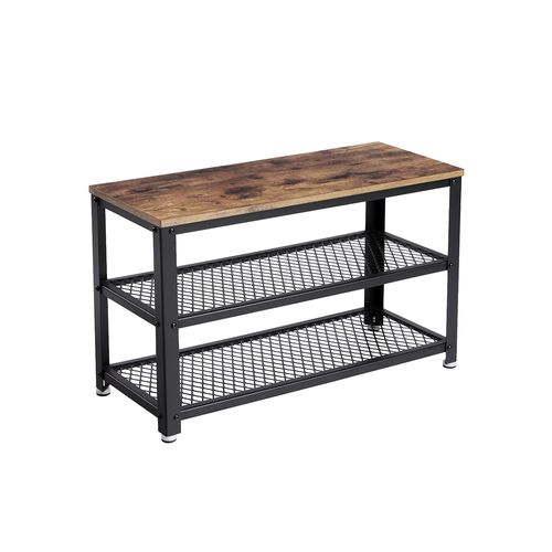 Industrial Storage Shoe Bench