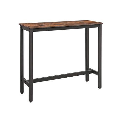 Narrow Rectangular Bar Table