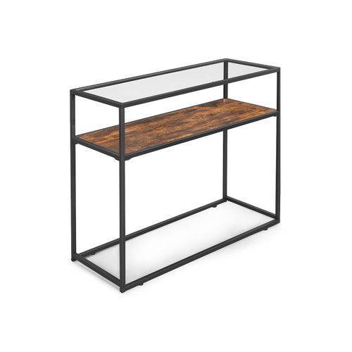 Glass Tabletop Console Table