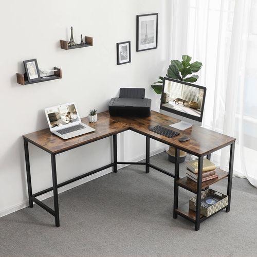 L Shaped Computer Desk Computer Desk Vasagle By Songmics