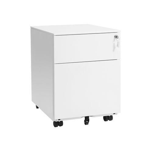 Pure White File Cabinet