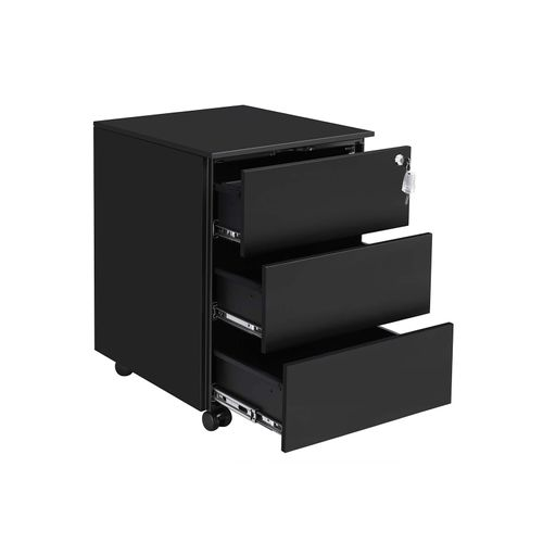 Mobile Lockable File Cabinet
