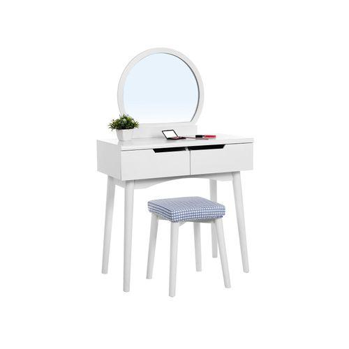 Round Mirror Vanity Set