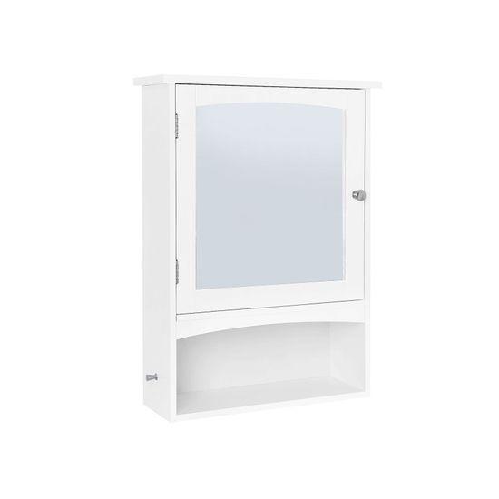 Wall Storage Mirrored Cabinet