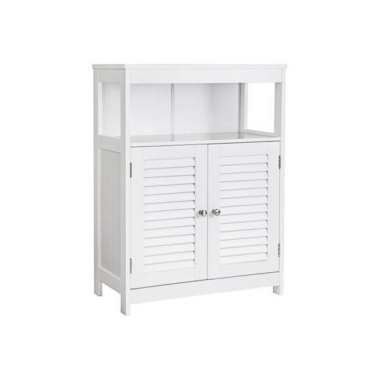 Wooden Bathroom Floor Cabinet