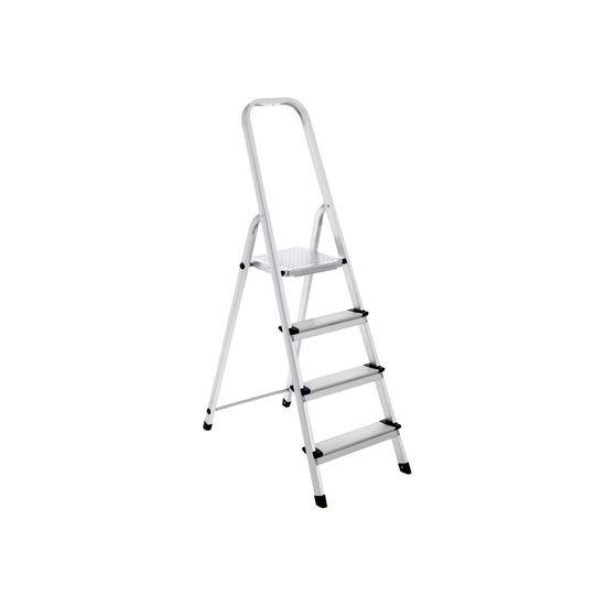 4 Step Aluminum Ladder