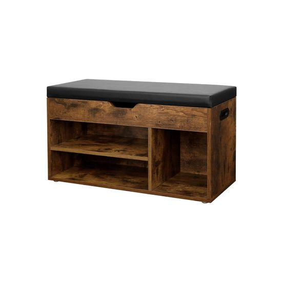 3 Compartments Shoe Bench