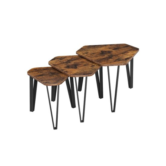 Set of 3 Nesting Coffee Table