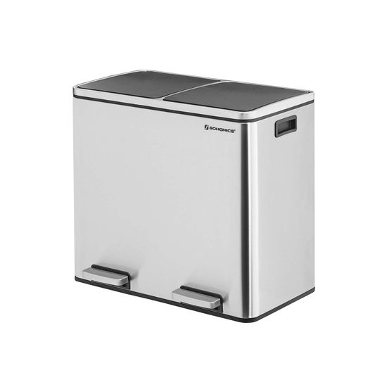 2 Compartments Dustbin