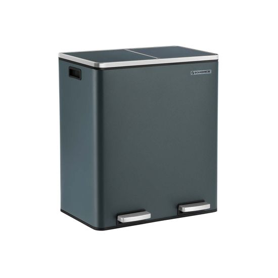 Double 30L Trash Can