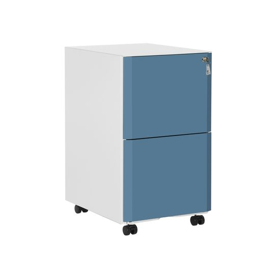 Double Drawers File Cabinet