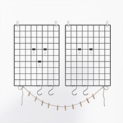 Grid Panel Photo Wall