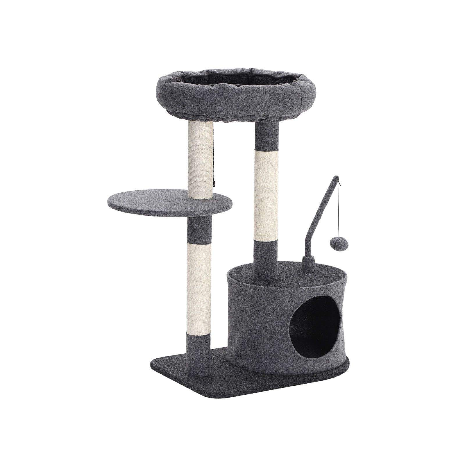 FEANDREA Padded Condo Cat Tree