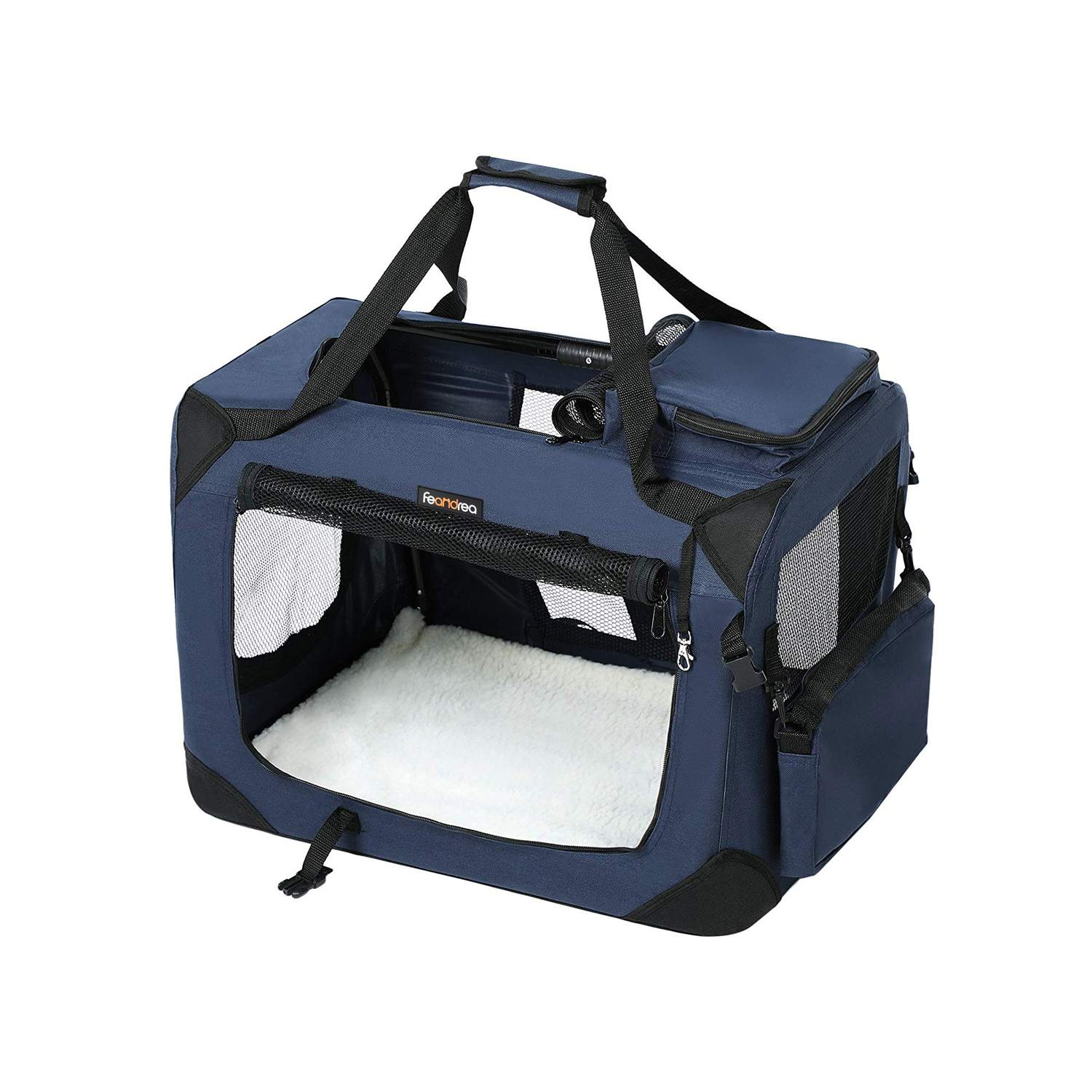 FEANDREA Medium Blue Pet Carrier