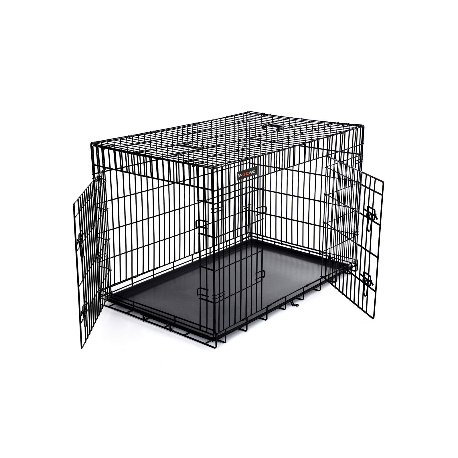 FEANDREA Folding Metal Puppy Cage