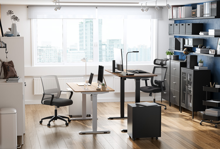 A Shared Workspace That Works for Two